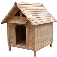 caseta de perro, 103 x 83 x 97 cm con colgadizo