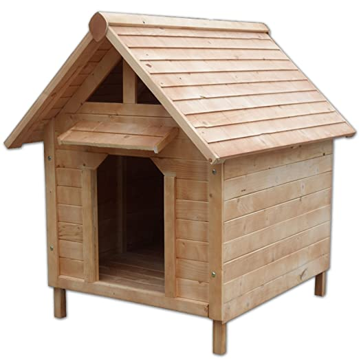 22 opinioni per Cuccia casetta per cani in legno, 103 x 83 x 97 cm