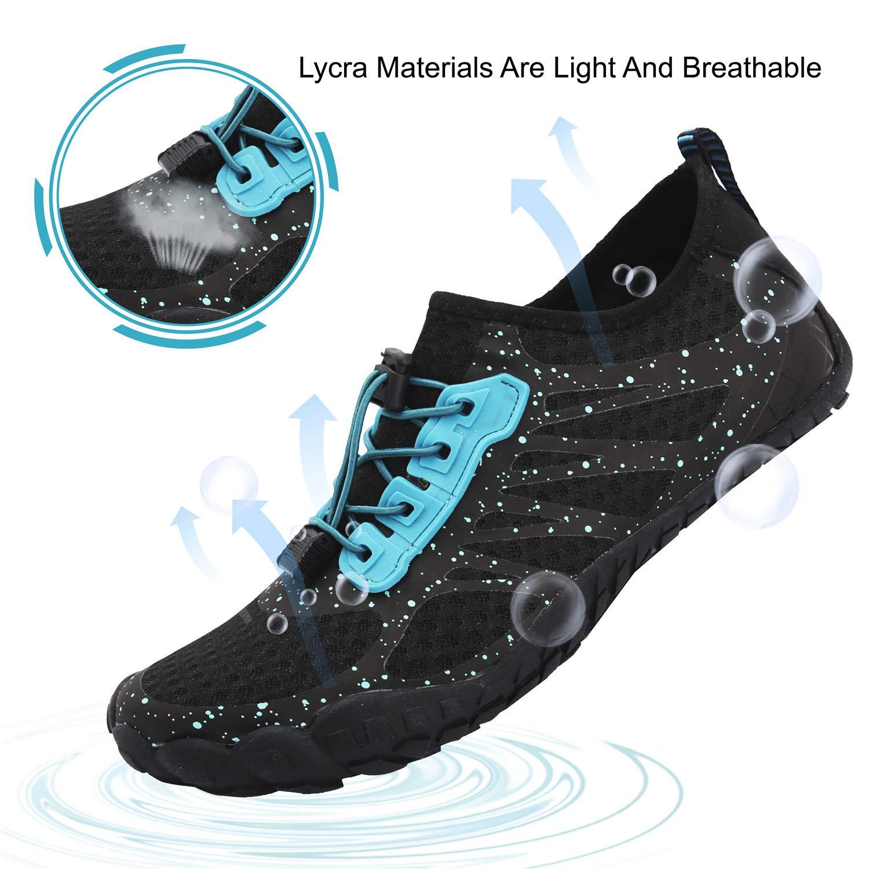 JIASUQI Chaussures de Sports Aquatiques Homme