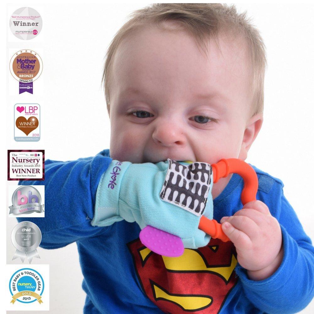 Manopla Denticion Gummee Glove Turquesa Gummee LTD GGLOVET