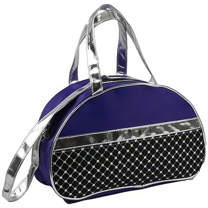 99250e20b584 Amazon.com    1 Fashion Girls Dance Duffle Moon Ballet Bags (Purple ...