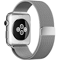 EveShine 42mm Milanese Loop iWatch Replacement Band