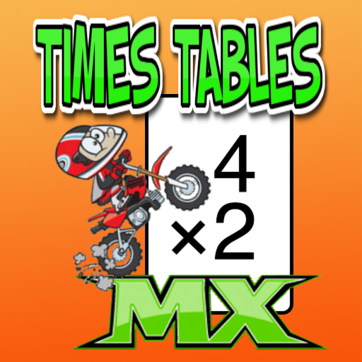 Times Tables (Motocross) (Best Multiplication Table App)