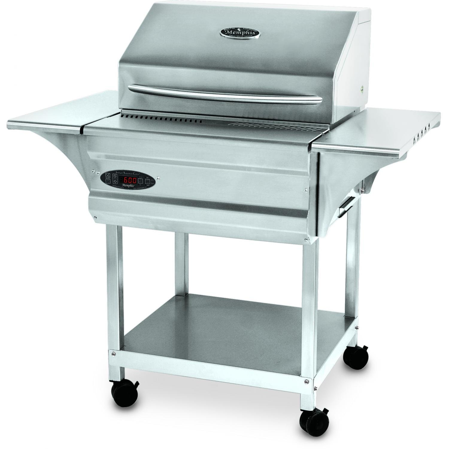 Memphis Grills Advantage Plus Wood Fire Pellet Smoker WiFi (VG0050S4-P), Freestanding, 430 Stainless Steel Alloy