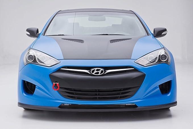 Racingbees 2008 2016 Hyundai Genesis Coupe Rear Roof Window Visor 2009 10  11 12 13 14 ...