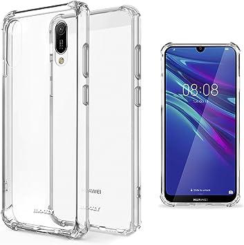 Moozy Funda Silicona Antigolpes para Huawei Y6 2019: Amazon.es ...