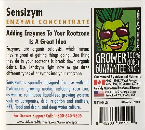 Avanzado nutrientes Sensizym Fertilizantes: Amazon.es: Jardín