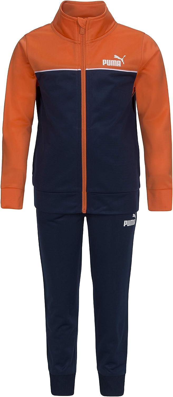 PUMA boys Track Jacket & Jogger: Clothing