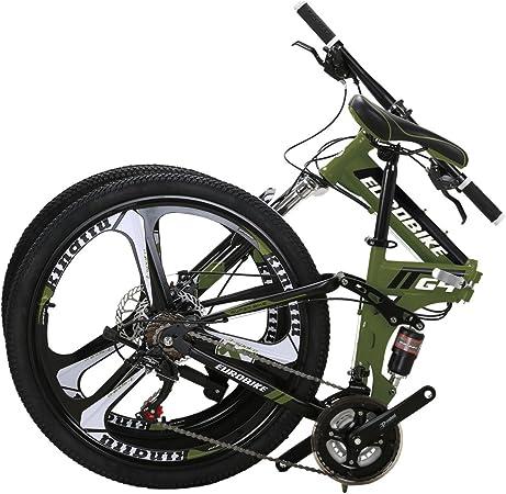 Amazon.com: Bicicleta de montaña Eurobike TSM G4, 21 ...