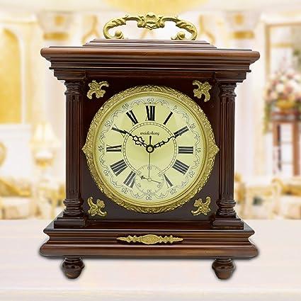 relojes antiguos vintage reloj de latón europeo reloj de salón creativo Reloj Reloj decorativo de manera