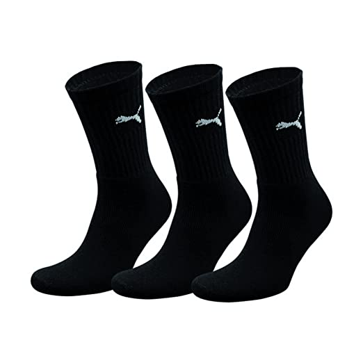 Puma Crew Trainer Socks 3 Pair Pack/Mens Socks (10-12 US)