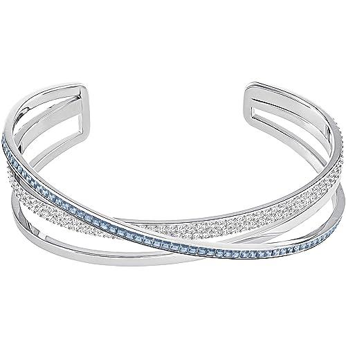 39e6b661b8ad Swarovski pulsera de mujer Hero S metal Swarovski cristales M, Plata ...
