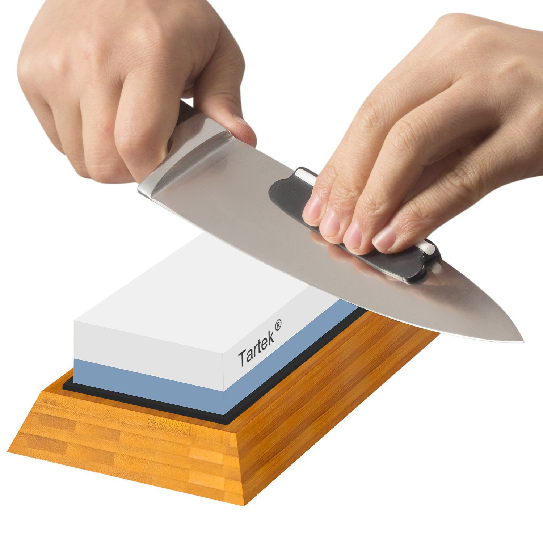 tartek knife sharpening stone 1000 6000 grit japanese sharpener