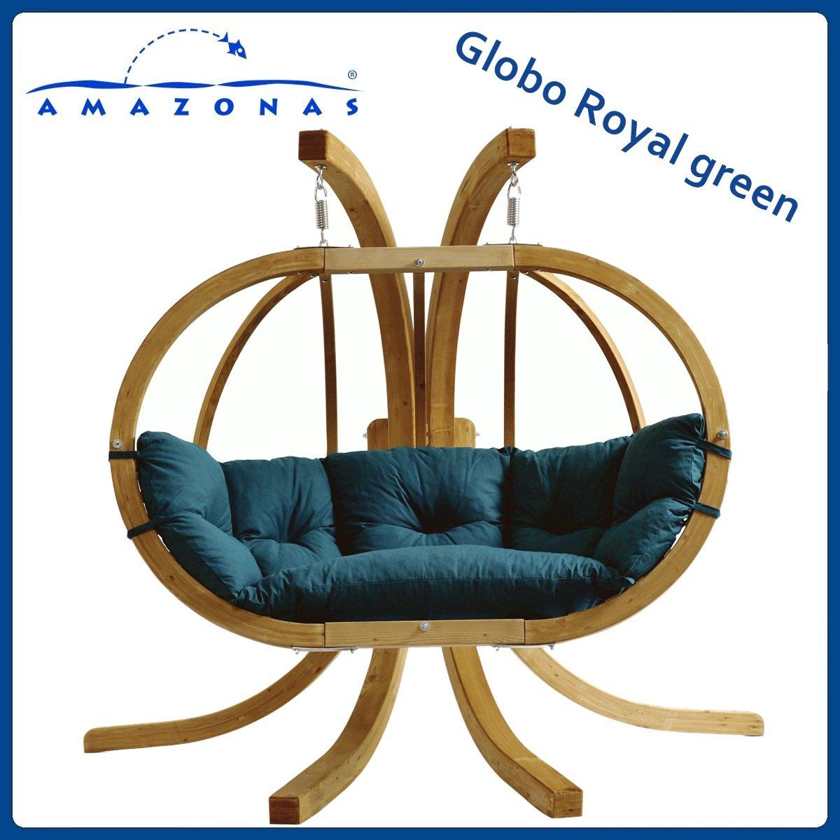 Balancelle GLOBO ROYAL Vert avec support