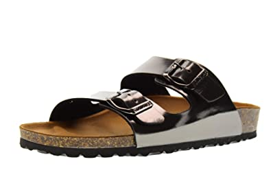 GoldStar Schuhe Frau Sandalen Hausschuhe 1800RY Peltro Größe 37 Hartzinn 84nE0Pi