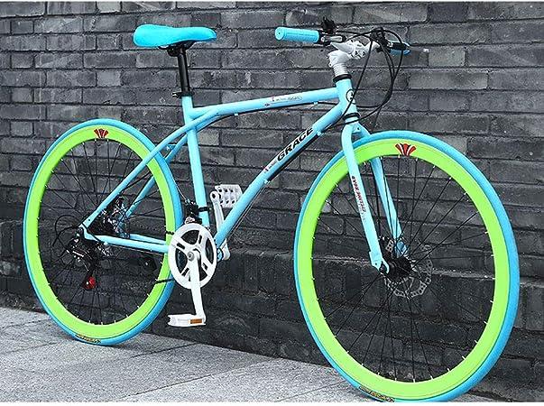 YXWJ 24 velocidades for Bicicleta Adultos al Aire Libre del Estudiante 26/24 Pulgadas Marco de