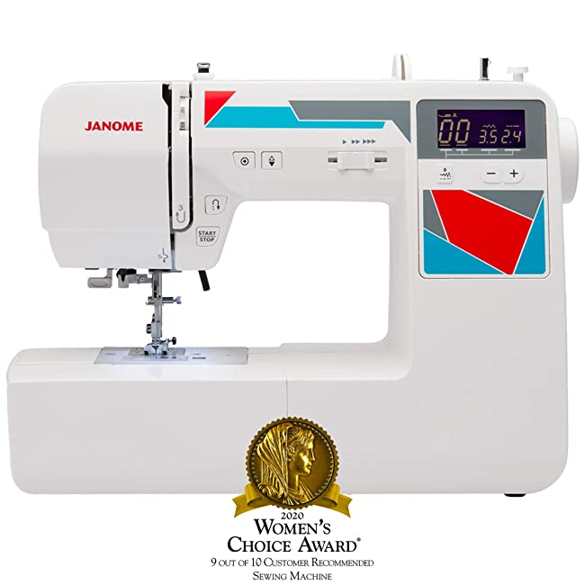 Best Computerized Sewing Machine For Home Use: Janome MOD-100