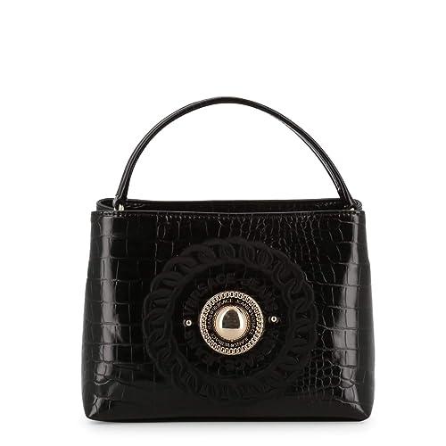 f615c01f Versace Jeans Women Handbag Black Genuine Designer Handbag: Amazon ...