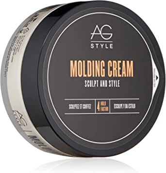 AG Hair Cosmetics AG Hair Cosmetics Molding Cream Sculpt And Style for Unisex 2.5 oz Cream, 75 ml