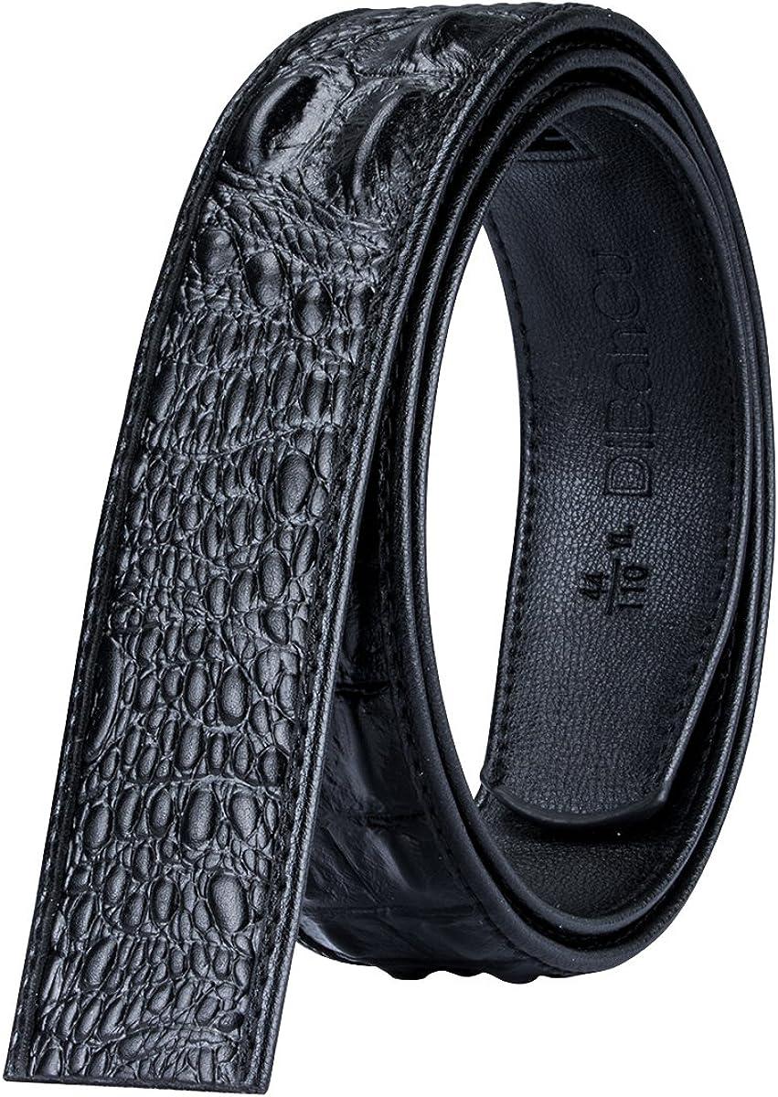 Barry.Wang Designer Belts Mens Genuine Leather Ratchet Dress Belt