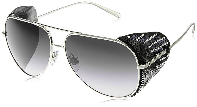 Armani Giorgio AR6005BZ gafas de sol, Plateado (Silver/Black ...