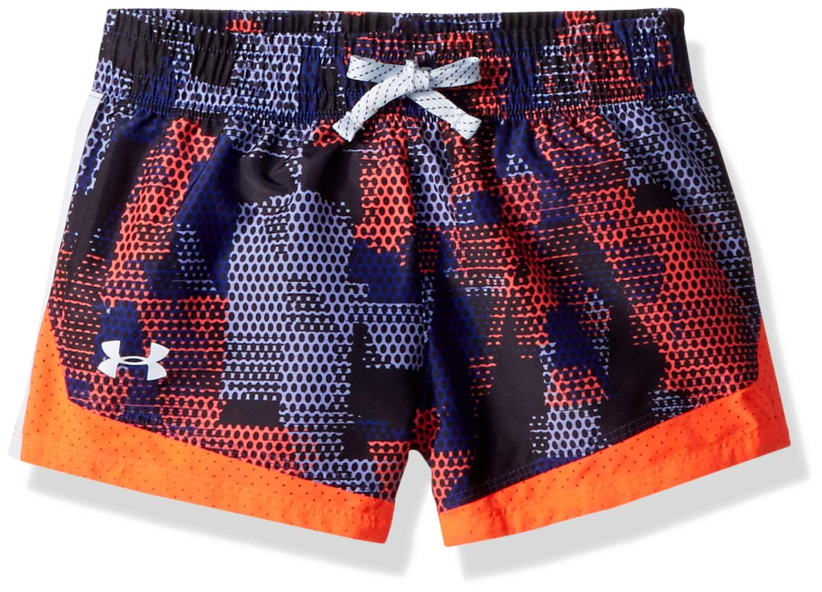 Girl's Under Armour Girls' Sprint novelty short, Formation Blue /Oxford Blue, Youth X-Small by Under Armour