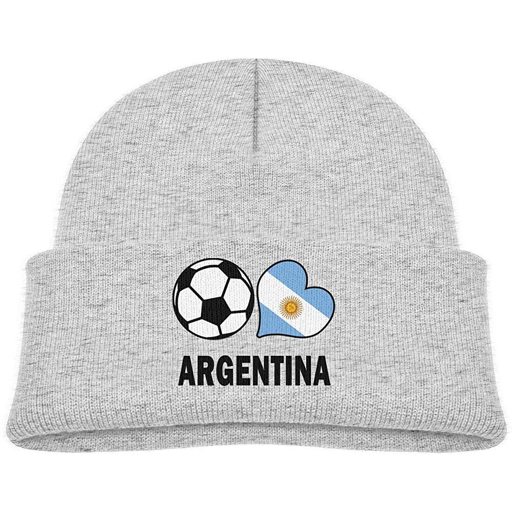Baby Boy s Girl s Knit Beanie Hat Fútbol Corazón Fútbol ...