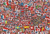 1000 piece jigsaw puzzle Where's Wally? Grand party (49x72cm)