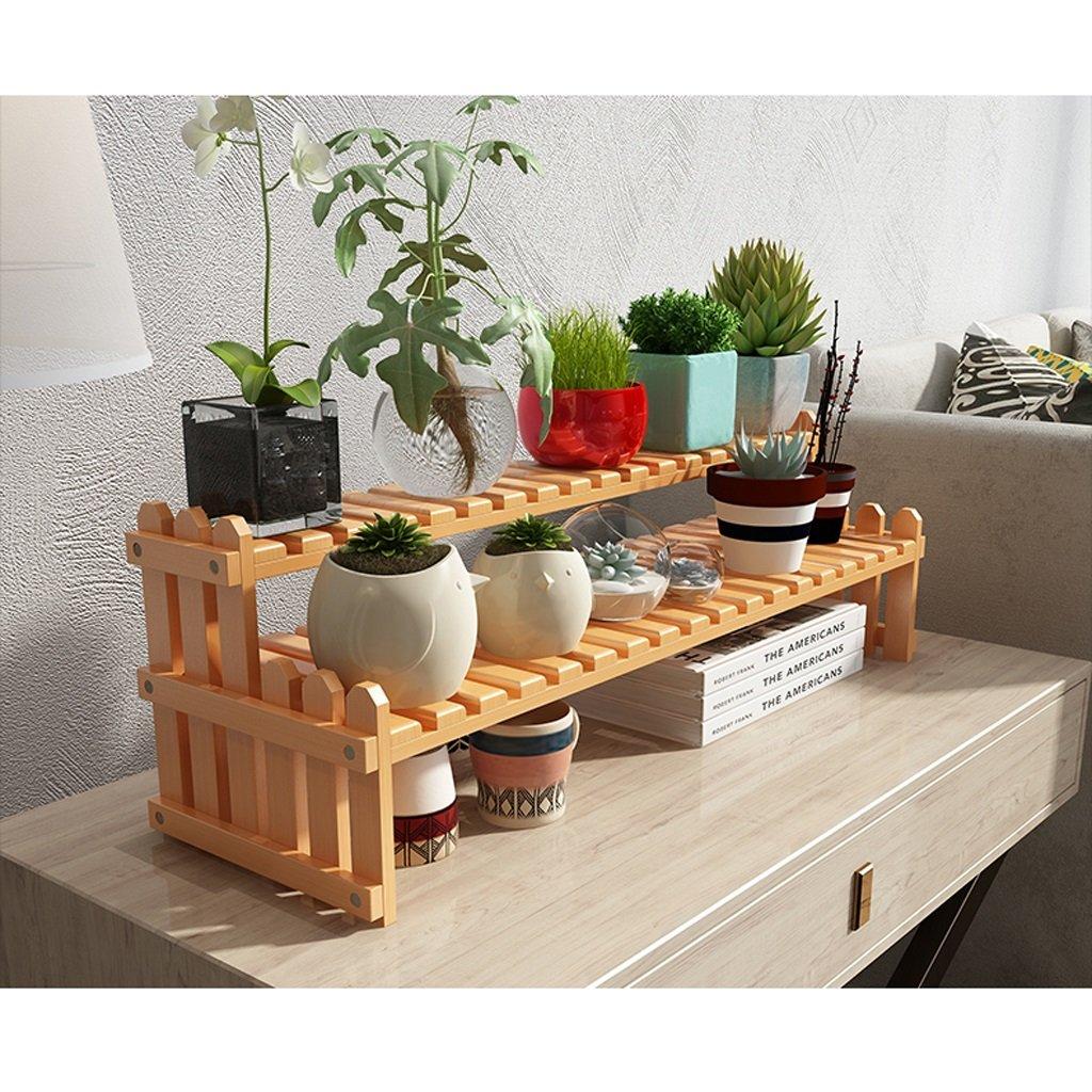 Blumenständer, Indoor, Balkon, Tischhalter, Lagerregal, 60cm ( Color ...