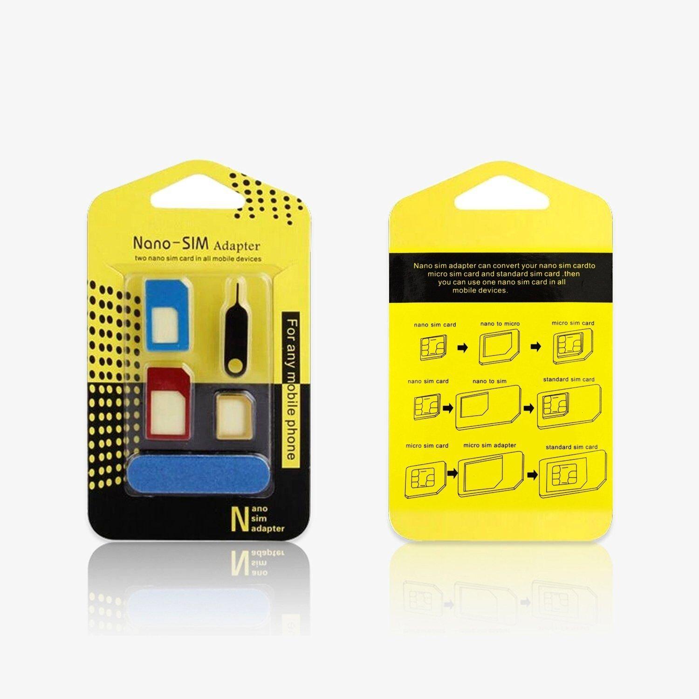 Fantime Sim Karten Adapter 5 in 1 Nano Micro Standard Amazon Elektronik
