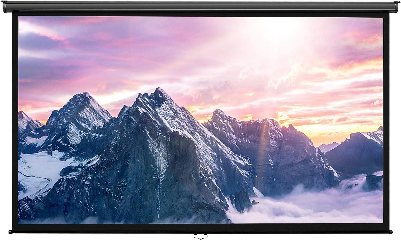VonHaus 254 cm pantalla panorámica pantalla para proyector (Manual ...