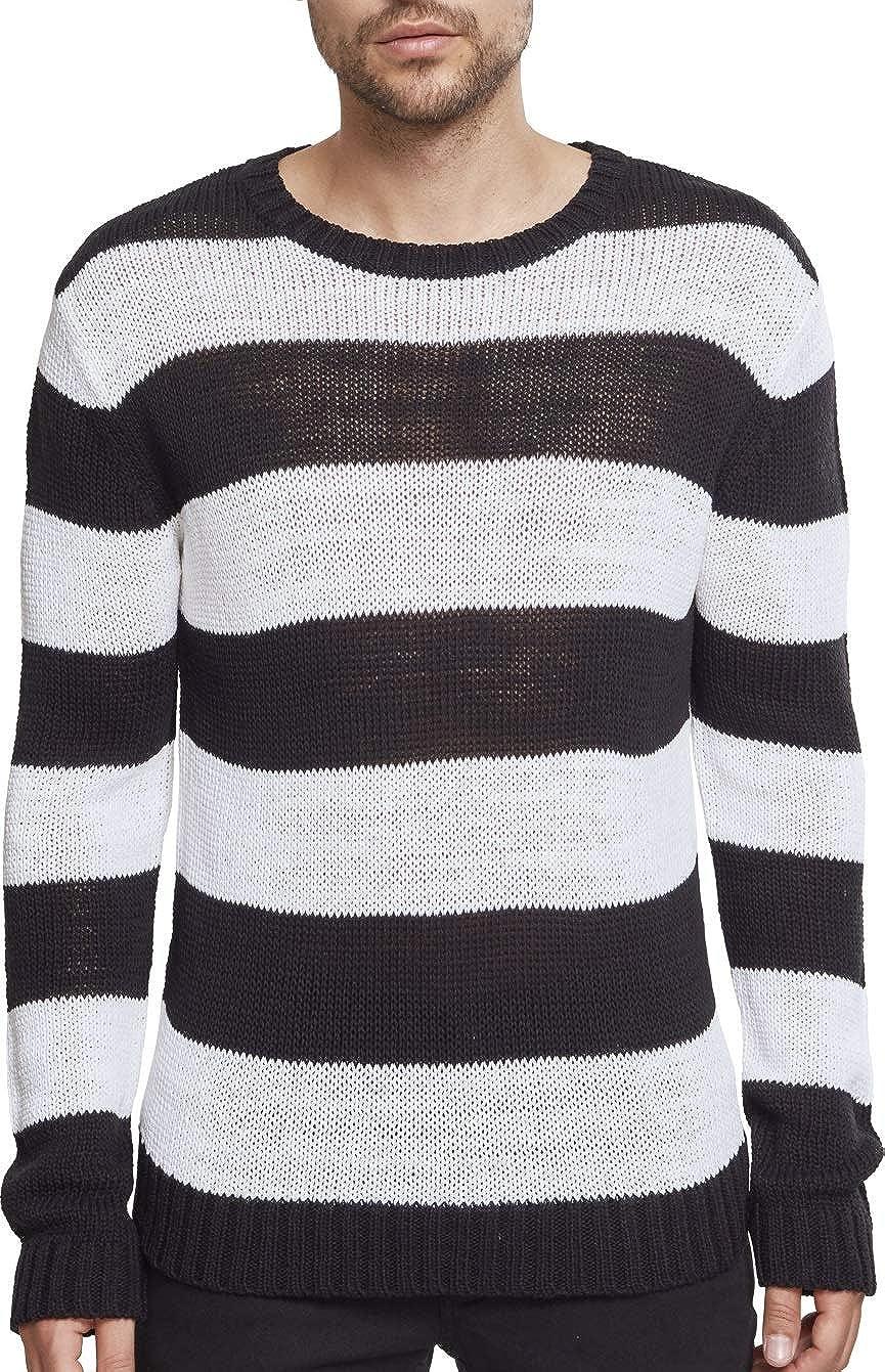 TALLA XL. Urban Classics Striped Sweater Sudadera para Hombre