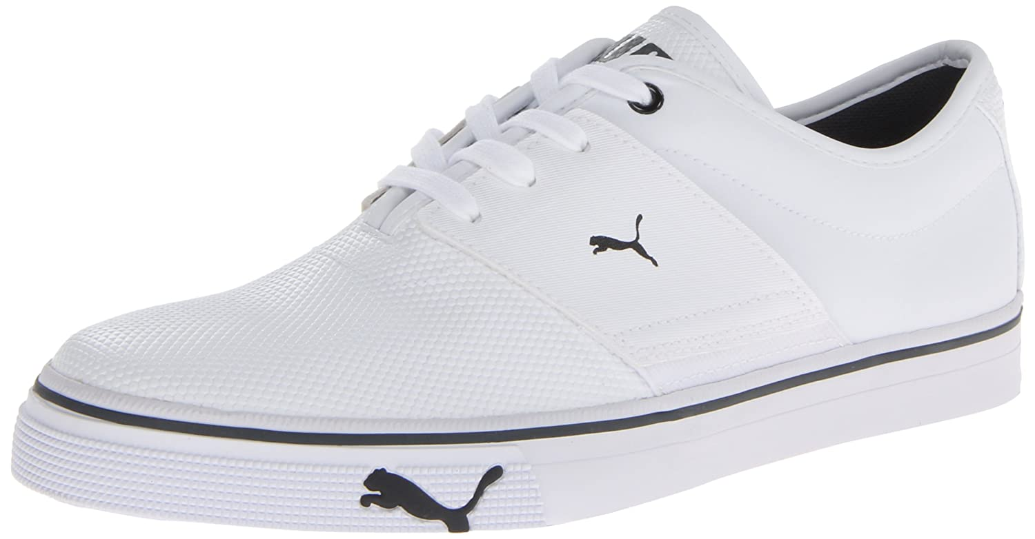 PUMA Men s El Ace Core Lace-Up Fashion Sneaker White 7 D(M) US: Buy Online  at Low Prices in India - Amazon.in
