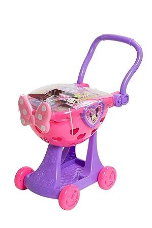 Just Play Carrito de la Compra de Minnie Mouse: Amazon.es: Juguetes ...