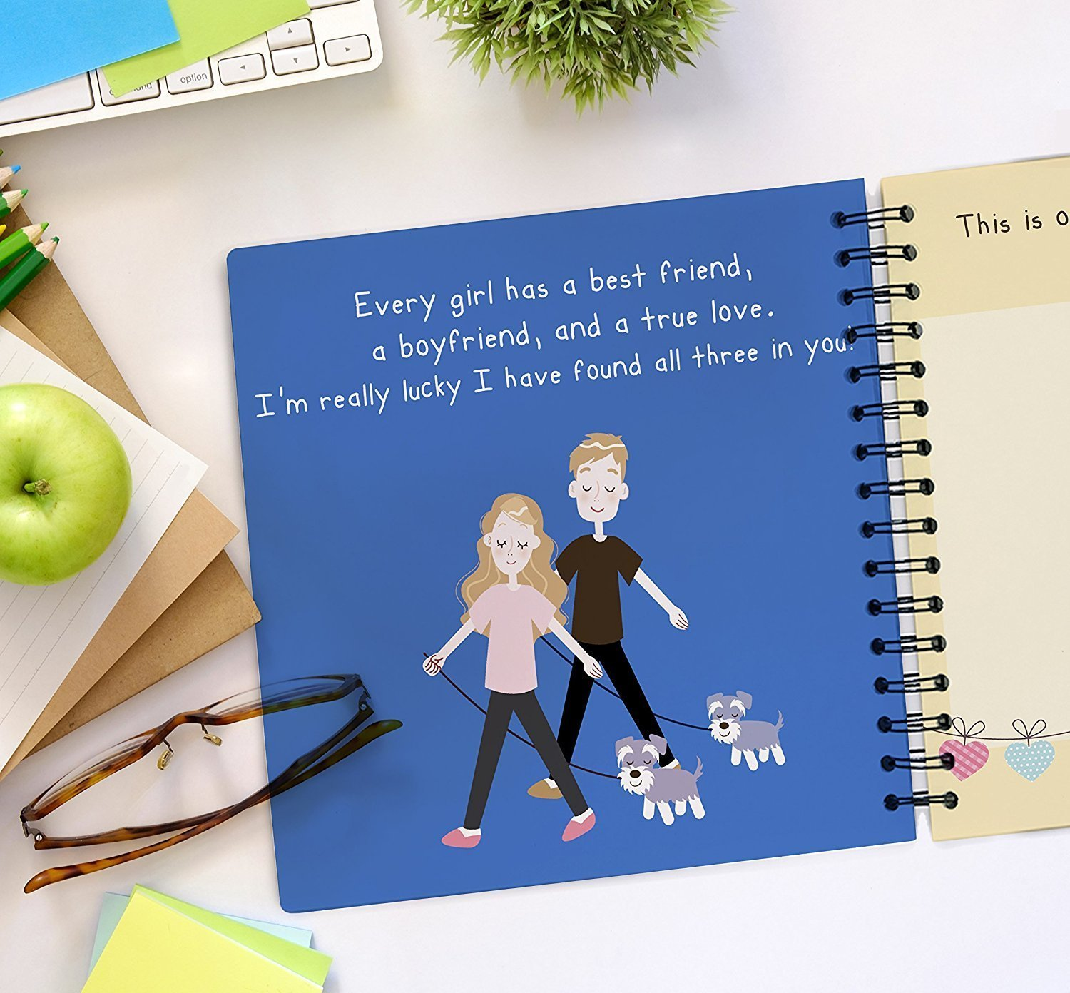 Best Boyfriend Ever Memory Book - The Best Romantic Gift Ideas For Your Boyfriend! Your BF Will Love This Cute Present For His Birthday, Valentine's Day, Christmas Or A Special Date! by Unconditional Rosie (Image #4)