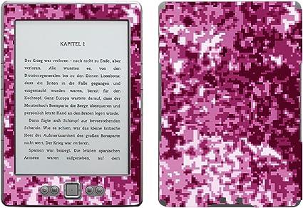 Disagu SF de 103567 _ 987 Diseño Protector de Pantalla para Amazon Kindle 4 eReader, diseño Digital Camuflaje Rosa Transparente: Amazon.es: Informática