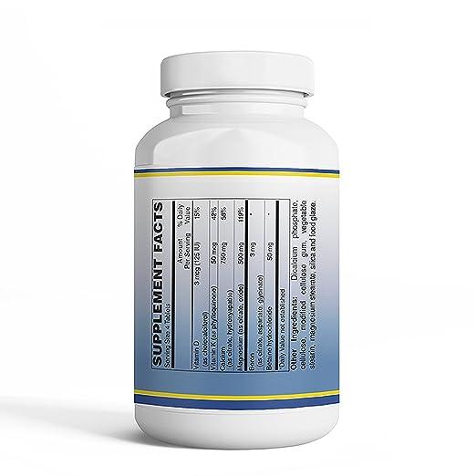 Amazon.com: Vitamin Discount Center Calcium Magnesium Citrate, 100 Tablets: Health & Personal Care