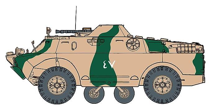 amazon com cyber hobby 1 35 brdm 2 3 2 in 1 and soviet tank crew