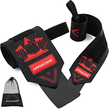 Bridawn Weight Lifting Workout Crossfit Wrist Wraps Straps