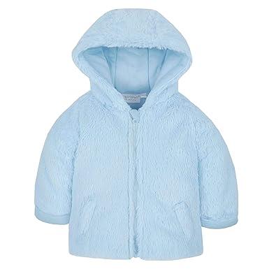 f6ff9b395 Baby Girls Boys Faux Fur Coat Plush Fleece Jacket Winter Pramsuit Babies  Infant: Amazon.co.uk: Clothing