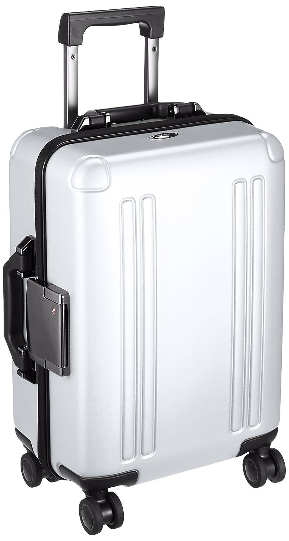[ゼロハリバートン] スーツケース ZRO polycarbonate 機内持込可 保証付 30L 46cm 3.5kg 94141 B074GTTJQSシルバー