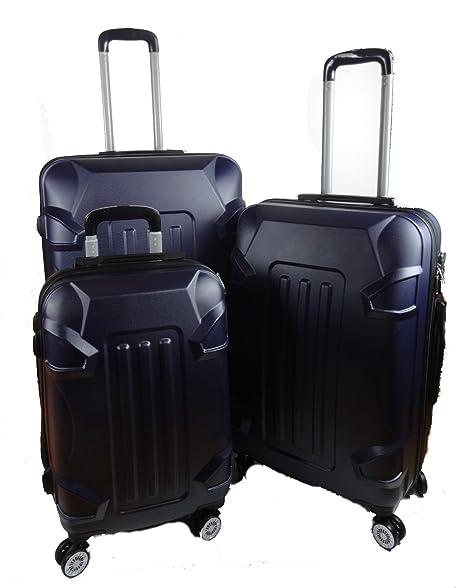 Nass Nass - Juego de maletas antracita 75 - 65 - 55 cm