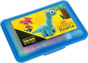 Idena 68125 – Caja con 20 Barras para amasar plastilina, Azul: Amazon.es: Juguetes y juegos