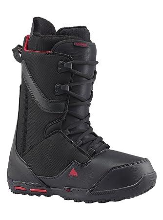 Burton Rampant–Botas para snowboard, color negro/rojo, tamaño 115