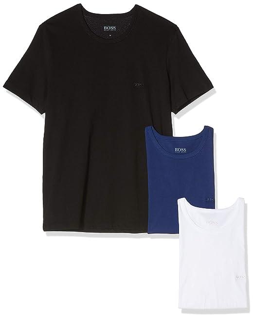 48c8995ff9 BOSS T-shirt Rn 3p Co - Camiseta Hombre  Amazon.es  Ropa y accesorios