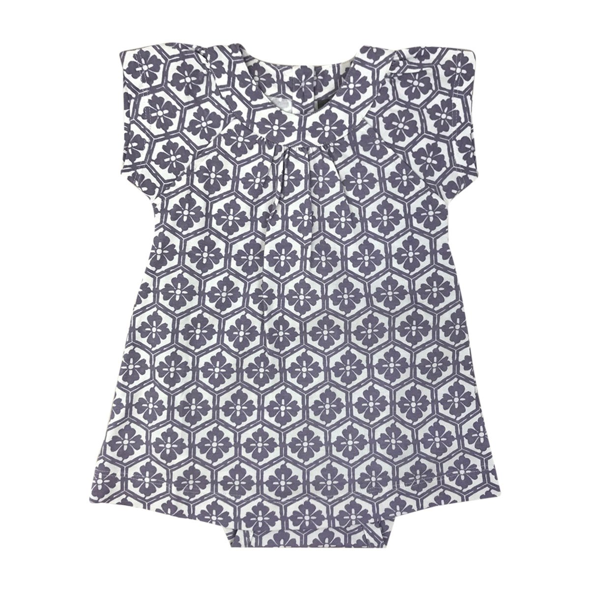 df3d79af8 The Kate Quinn Organics Bell Sleeve Dress Bodysuit is available for your  little one in our beloved essential prints and color palettes to make  dressing baby ...