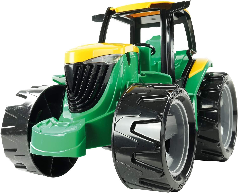 48cm Trecker g/éant pour Jouer Grand Tracteur pour Enfants /à partir de 3 Ans LENA 02121 Giga Trucks Tracteur Vert V/éhicule g/éant Puissant env