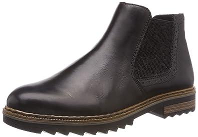 9e4873929c0d99 Rieker Damen X1484 Chelsea Boots  Amazon.de  Schuhe   Handtaschen