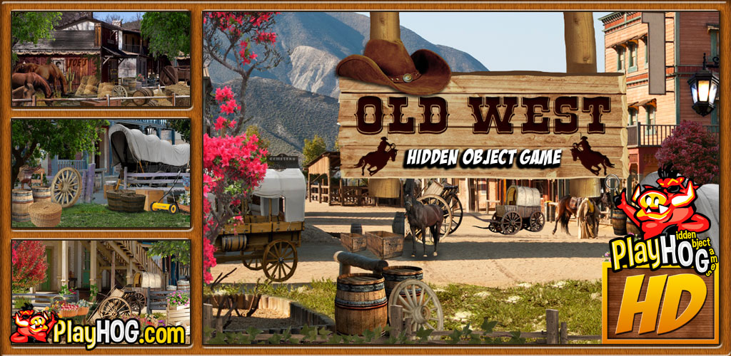 Amazon com: Old West - Find Hidden Object Game [Download]: Video Games