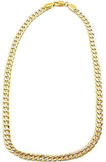 Goldkette damen stern  Hip Hop Gangster Goldkette für Herren und Damen GoldenOne 9mm ...